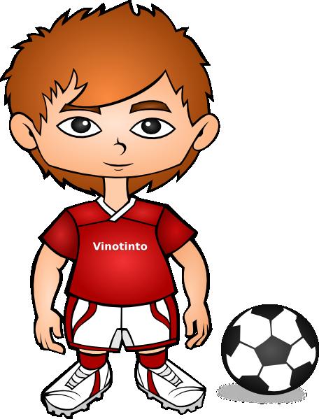 Soccer Player Clip Art...