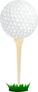 Golf Ball Tee Clip Art At Clker Com Vector Clip Art Online Royalty Free Public Domain