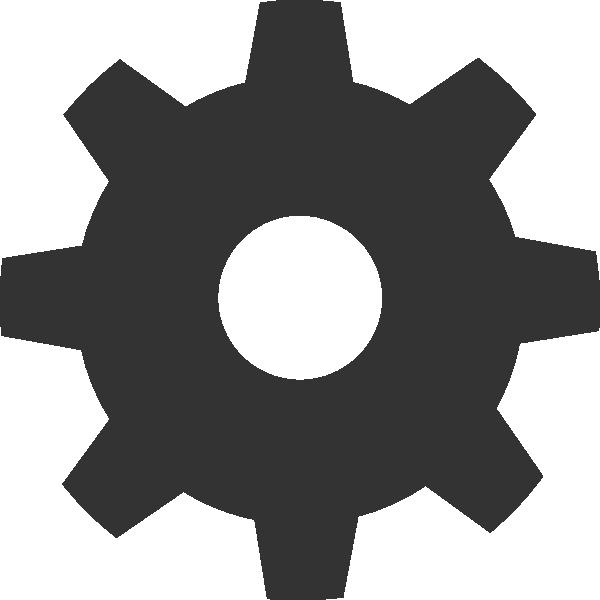 Gear Icon Clip Art at Clker.com - vector clip art online ...