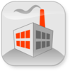 Commercial Factory Building Clip Art