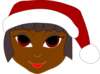 Black Santa Helper Clip Art