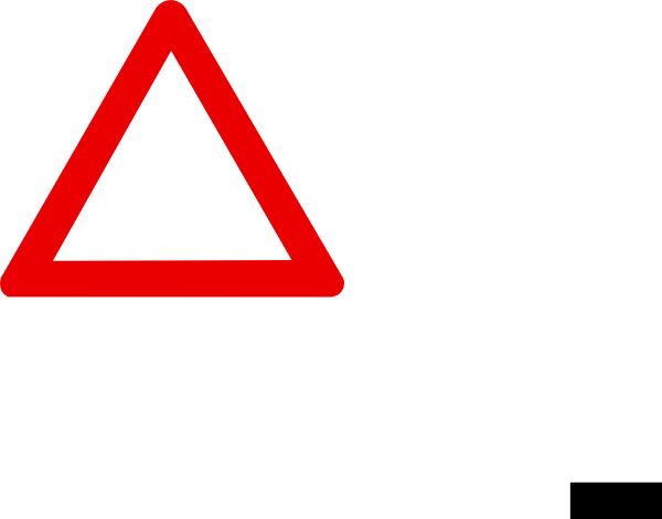 Blank warning sign clip art at clker vector clip art online download this image as pronofoot35fo Images