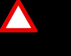 Blank Warning Sign Clip Art at Clker.com - vector clip art ...