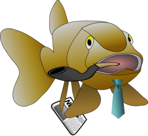 Father Fish Clip Art