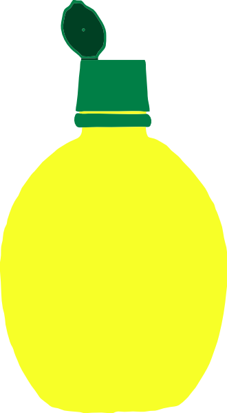 Lemon Juice Bottle Clip Art at Clker.com - vector clip art ...