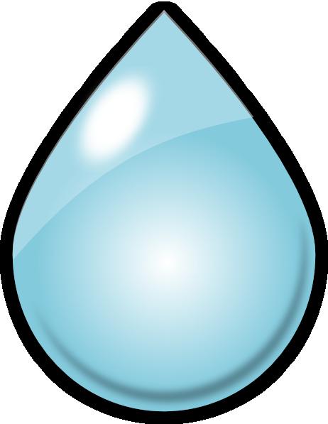 Rain Drop Clip Art at Clker.com - vector clip art online, royalty free ...