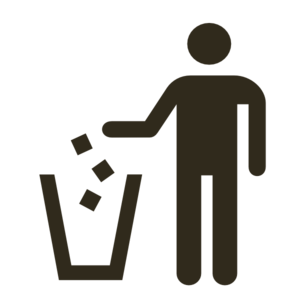 Garbage Can Icon Clip Art