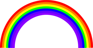 Thick Rainbow Clip Art