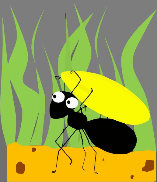 Ant Clip Art at Clker.com - vector clip art online, royalty free ...
