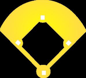 Baseball Diamond Clip Art at Clker.com - vector clip art online ...