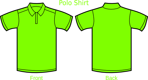 Green Polo Shirt Clip Art at Clker.com - vector clip art ...