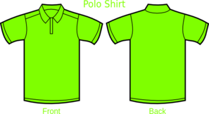Green Polo Shirt Clip Art