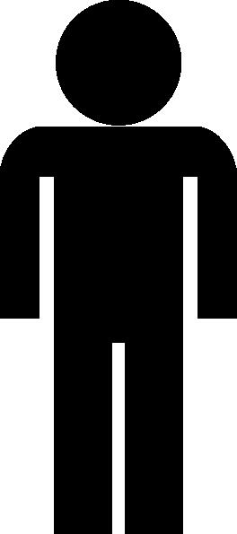 Black Man Symbol Clip Art at Clker.com - vector clip art online ...