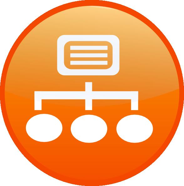 Network Symbols Clip Art : Network icon clip art at clker vector