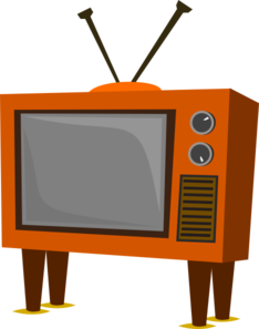Old Tv Clip Art