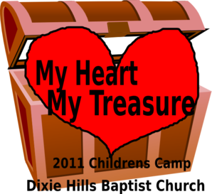 Dhbc My Heart My Treasure Clip Art