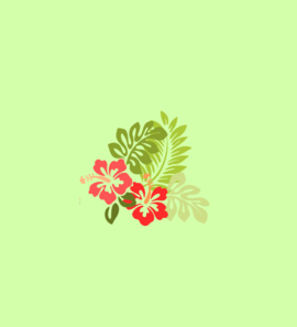 Hibiscus By Ib Clip Art