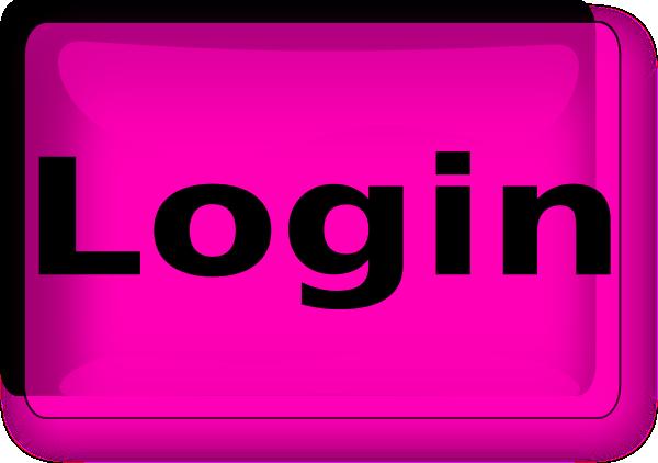 Pink Plus Login Button Clip Art at Clker com - vector clip