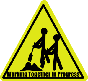 Work Together In Progress Clip Art