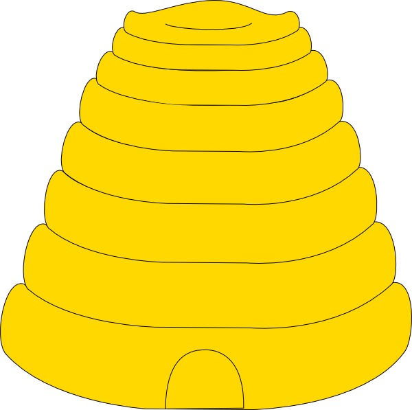 clipart beehive - photo #2