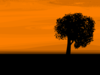 Sunset Scenery Clip Art