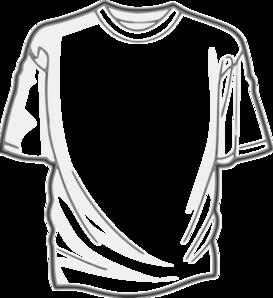 Tshirt Template Clip Art At Clker Com Vector Clip Art Online