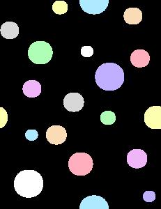 polka dots in pastel colors clip art at clker com vector clip art rh clker com red polka dot background clipart black polka dot background clipart