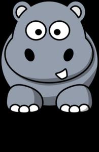 hippo clip art at clker com vector clip art online royalty free rh clker com hippo clip art free hippo clip art printable