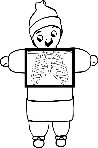 X Ray Happy Clip Art at Clker.com - vector clip art online ...