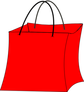 red bag clip art at vector clip art online royalty free public domain. Black Bedroom Furniture Sets. Home Design Ideas