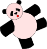 Cartoon Panda Bear Clip Art