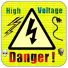 High Voltage Sign Clip Art