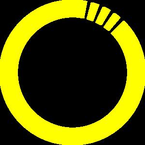 yellow circle clip art at clker com vector clip art online rh clker com yellow scalloped circle frame clip art Black Circle Clip Art