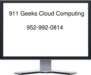 911 Geeks Cloud Computing Clip Art