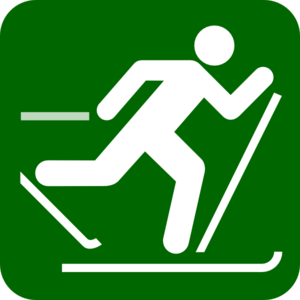 Dartmouth Skier Clip Art