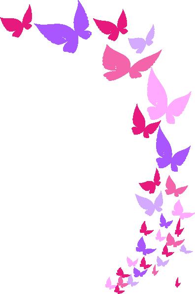 Monarch Butterfly On Flower Tattoo Rainbow Butterfly Clip...