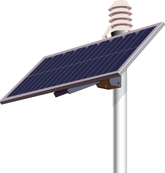 Solar Panel Clip Art At Clker Com Vector Clip Art Online