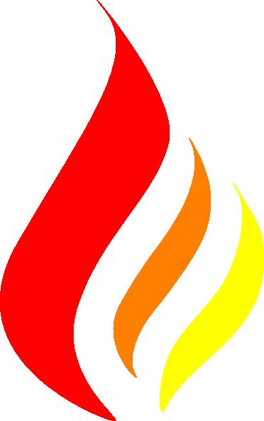 redorangeyellow flame clip art at clkercom vector