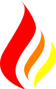 Red-orange-yellow Flame Clip Art