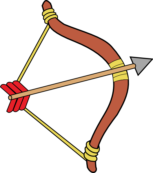 Bow And Arrow Clip Art at Clker.com - vector clip art ...