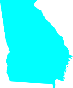 georgia state map outline solid clip art at clker com vector clip rh clker com georgia tech clip art free georgia bulldog clipart
