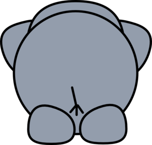 Elephant Back Clip Art