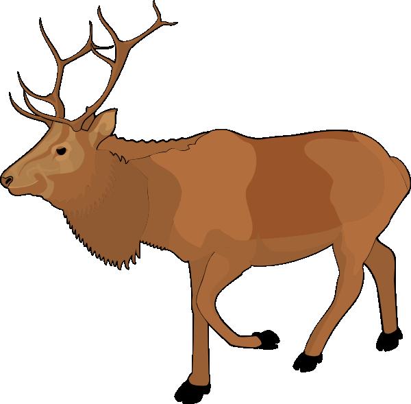 reindeer clip art at clker com vector clip art online royalty rh clker com clip art reindeer antlers clip art reindeer face