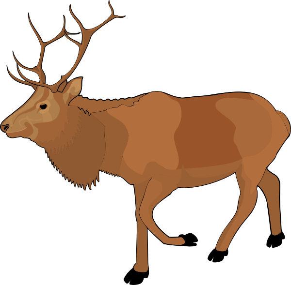 reindeer clip art at clker com vector clip art online royalty rh clker com clip art reindeer eyes clip art reindeer antlers