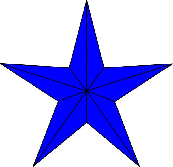 blue star clusters clip art - photo #4