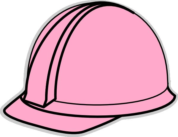 Lt Pink Hard Hat Clip Art at Clker.com - vector clip art ...
