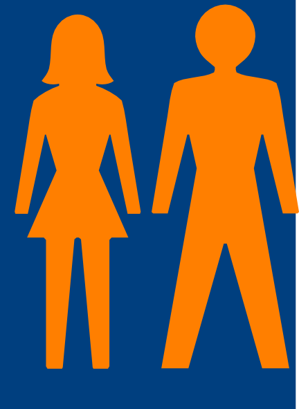 Man And Woman Heterosexual Icon Alternate Clip Art At