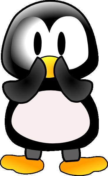 shy penguin clip art at clker com vector clip art online royalty rh clker com halo clip art halo clip art images