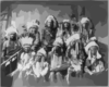 [chief Red Cloud And Chiefs (group Of 10)] Clip Art
