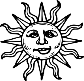 Old Sun New Smile Clip Art